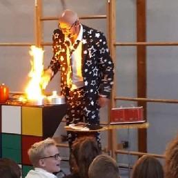 Ballon artiest Den Helder  (NL) Clown Dombo's Entertainmentshow 1,5 m