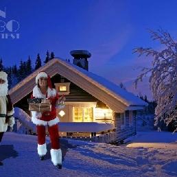 Character/Mascott Den Helder  (NL) Santa Claus and Santa Woman