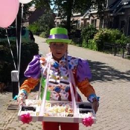Karakter/Verkleed Den Helder  (NL) Suikerzoete Dame voor evenementen !