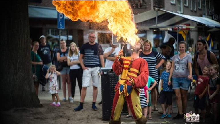 Fire show by Magic Story