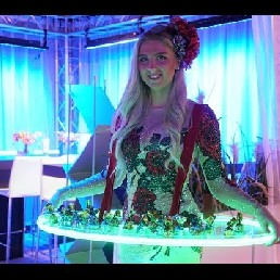 Candy Girls als Levende LED Tafel