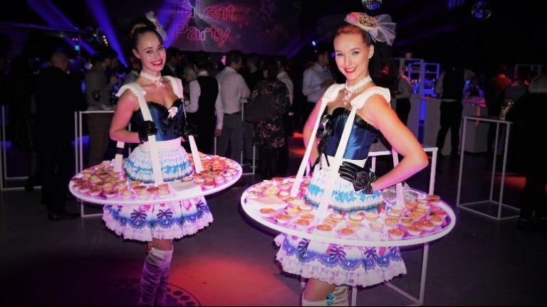 Candy Girls als Levende LED Tafel