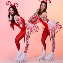Dancer Oosterhout  (Noord Brabant)(NL) Rollergirl Disco rolschaats act