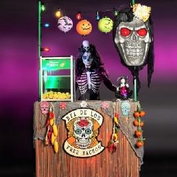 Food truck Oosterhout  (Noord Brabant)(NL) Halloween Nacho Bar