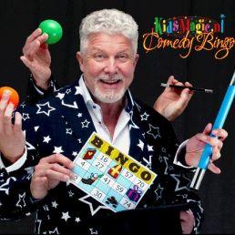 Goochelaar Woerden  (NL) Magische KidsMagic Bingo Show | Ton Bal