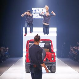 Stunt show Amsterdam  (NL) JUMP freerun