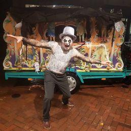 Muzikant overig Den Haag  (NL) Halloween Draaiorgel