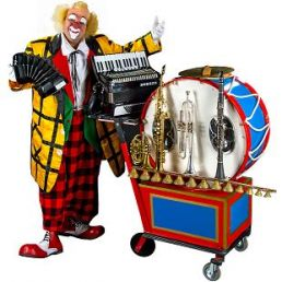 Musical Clown Teddy Clarinetti