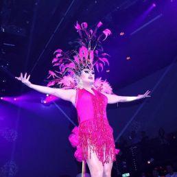 Travestie show Tiffanie Deelight