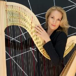Harpist Nuenen  (NL) Blue Harp