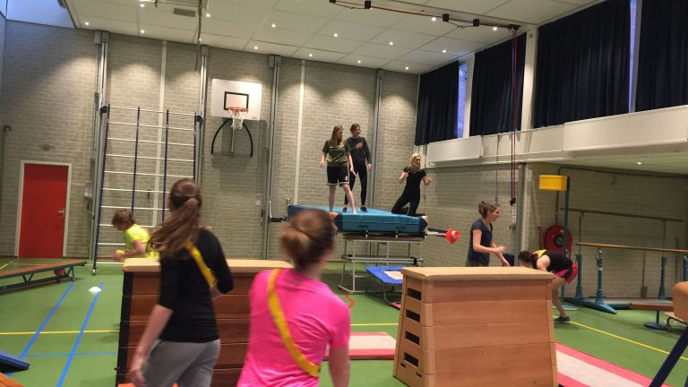 Apenkooi workshop van SportUnie