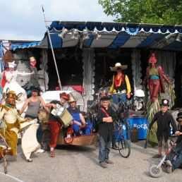 Drive-in show Winterswijk  (NL) Theater Truck - Walt Raaf