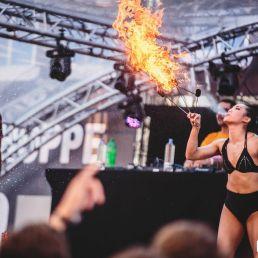 Stunt show Capelle aan den IJssel  (NL) Solo Vuurshow