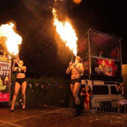Stuntshow Capelle aan den IJssel  (NL) Duo Vuurshow