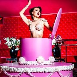Danser Rotterdam  (NL) Pop Out Cake