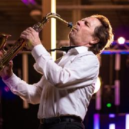Saxofonist Overloon  (NL) Saxofonist Jan van Oort