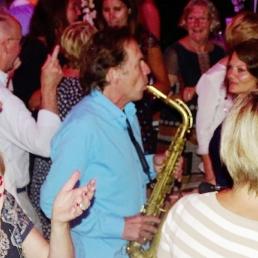 Saxophonist Jan van Oort