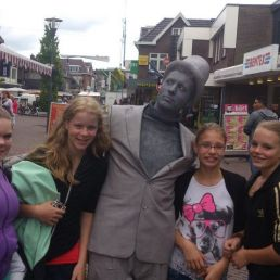 Animatie Emmen  (NL) Levend Standbeeld