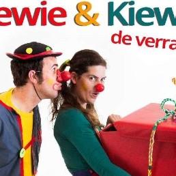 de clowns Piewie & Kiewie