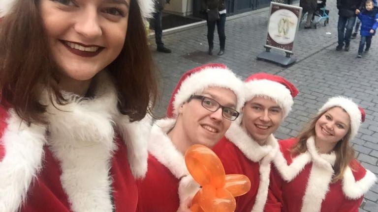 Het Te Gekke Kerst Team