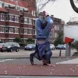 Trainer/Workshop Oosterwolde  (Gelderland)(NL) Voetbal Freestyle-clinic