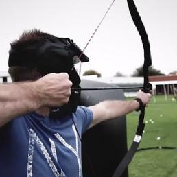 Sport/Spel Oosterwolde  (Gelderland)(NL) Archery Voetbal