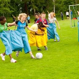 Sport/Spel Oosterwolde  (Gelderland)(NL) Siamees Voetbal