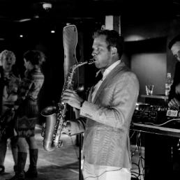 Saxofonist Maarssen  (NL) The Live Sax Show