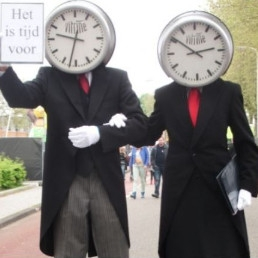 Event show Rotterdam  (NL) Klokken act