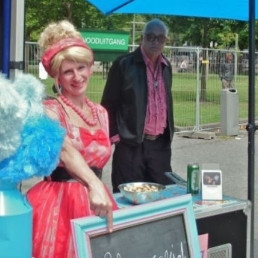 Food truck Rotterdam  (NL) Candyfloss machine with Animation