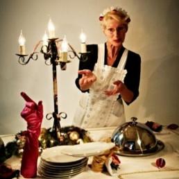 Actor Rotterdam  (NL) Levende Kersttafel