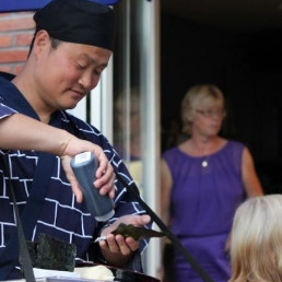 Food truck Lelystad  (NL) The Handroll King
