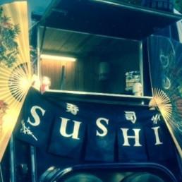 Foodtruck Lelystad  (NL) Sushi Foodcar