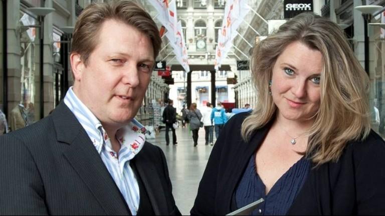 Lieke and Richard Lamb, the trend watcher duo of NL