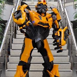 Event show Spijkenisse  (NL) Giant Transformerz Robot