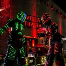 Cyber Led Robot op stelten