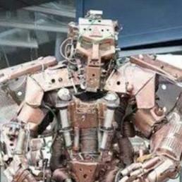 Animatie Spijkenisse  (NL) Grote ABC Robot