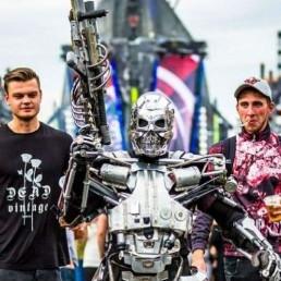 Animatie Spijkenisse  (NL) Terminator Led Robot