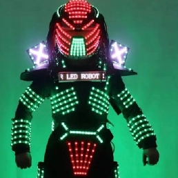 Actor Spijkenisse  (NL) The Predator Led Robot