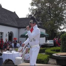 Singer (male) Belfeld  (NL) Elvis imitator/ zanger/tribute/act