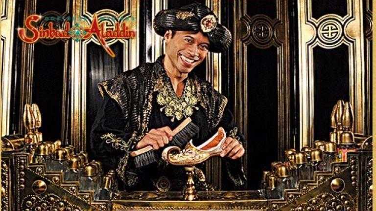 Aladdin de schoenpoetser