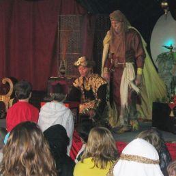 Sinbad & Aladdin the Oriental Magicians