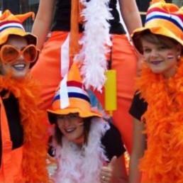 Kindervoorstelling Heinenoord  (NL) Het te Gekke Oranje Team
