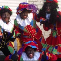 Het te Gekke Zwarte Pieten team