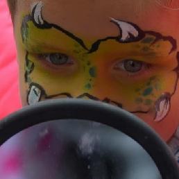 make up by Hebbespartyschmink