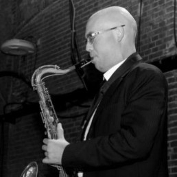 Saxophonist Barendrecht  (NL) Pieter Slijkoord