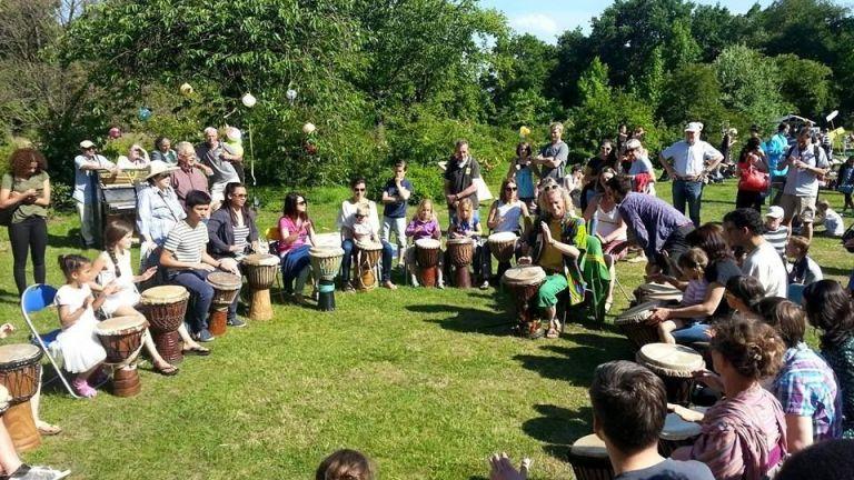 Djembe workshops on location