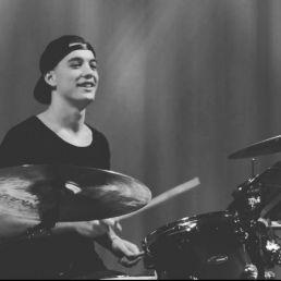 Percussionist Haarlem  (NL) Roel van Moll (sessie drummer)