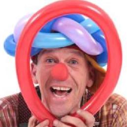 Ballon artiest Eefde  (NL) Ballonnenclown OkiDoki