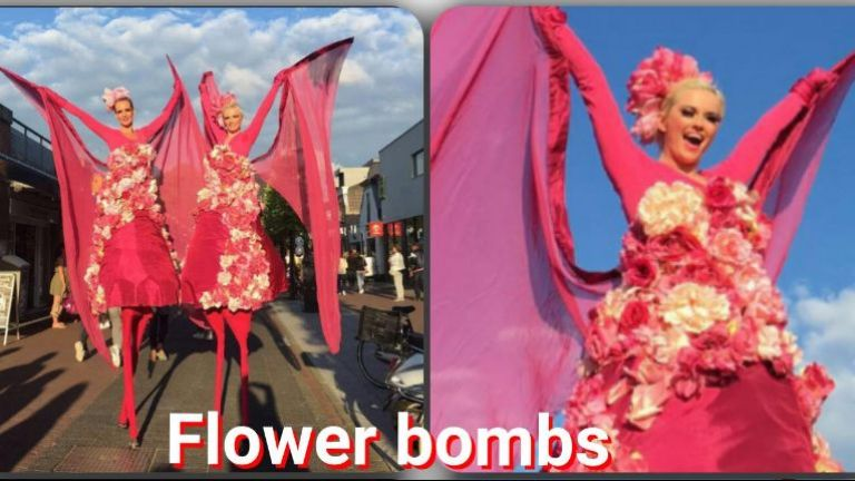Flower Bombs duo